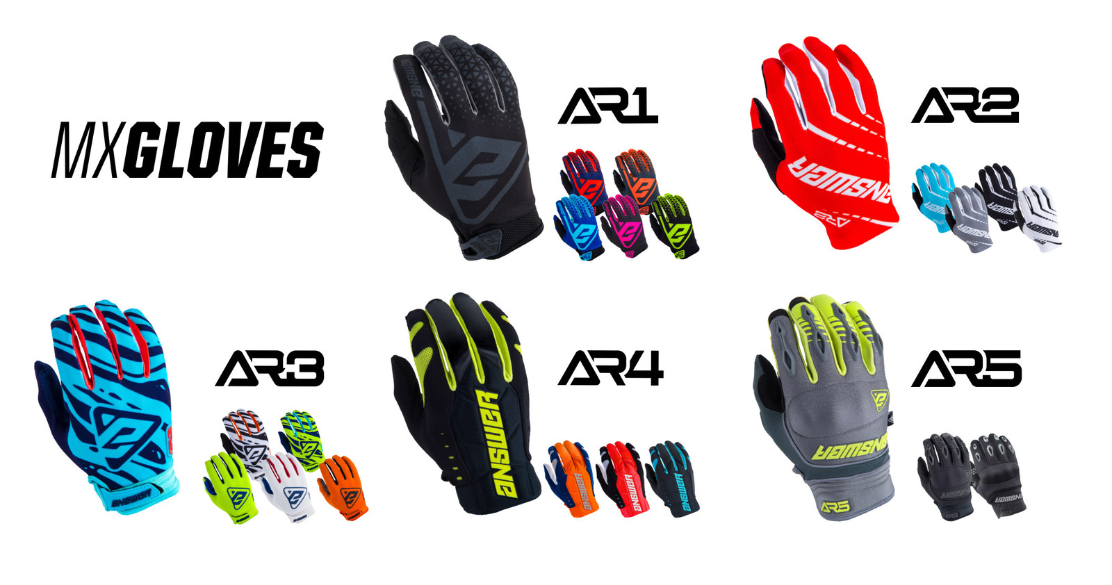 2019 Answer MX Gloves