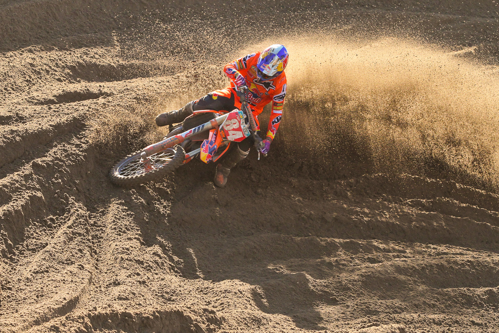 Jeffrey Herlings in Lommel, you can probably guess how he did.