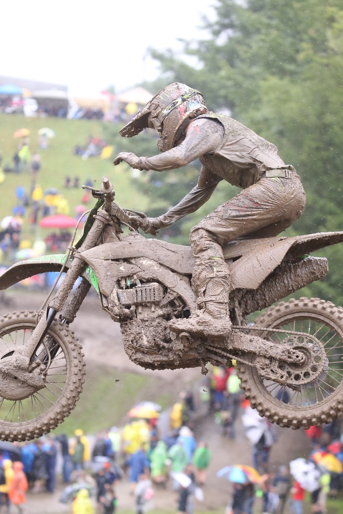 Eli Tomac finished second overall and kept his championship lead at 15 points.
