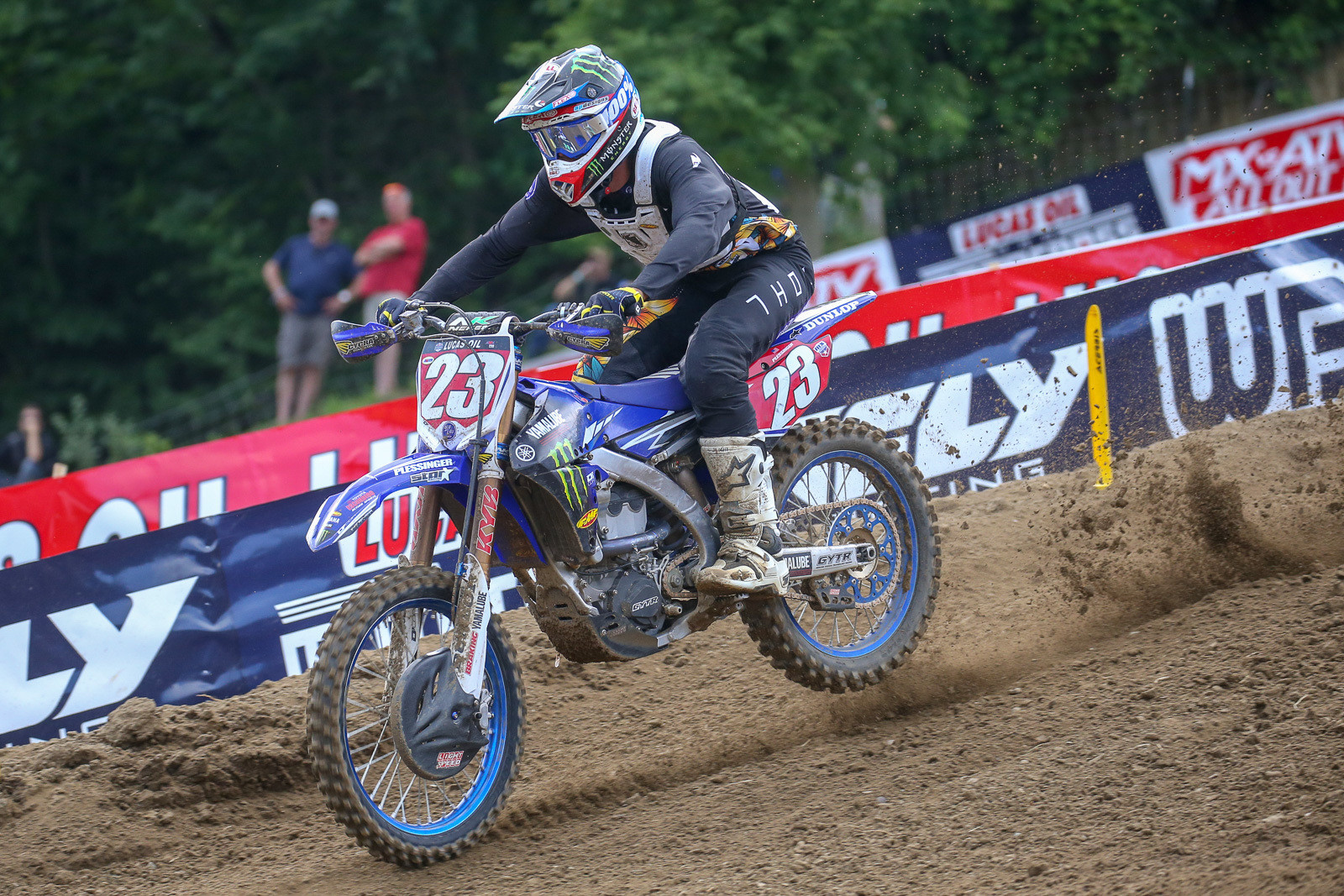 This will be Aaron Plessinger's first Motocross of Nations appearance.