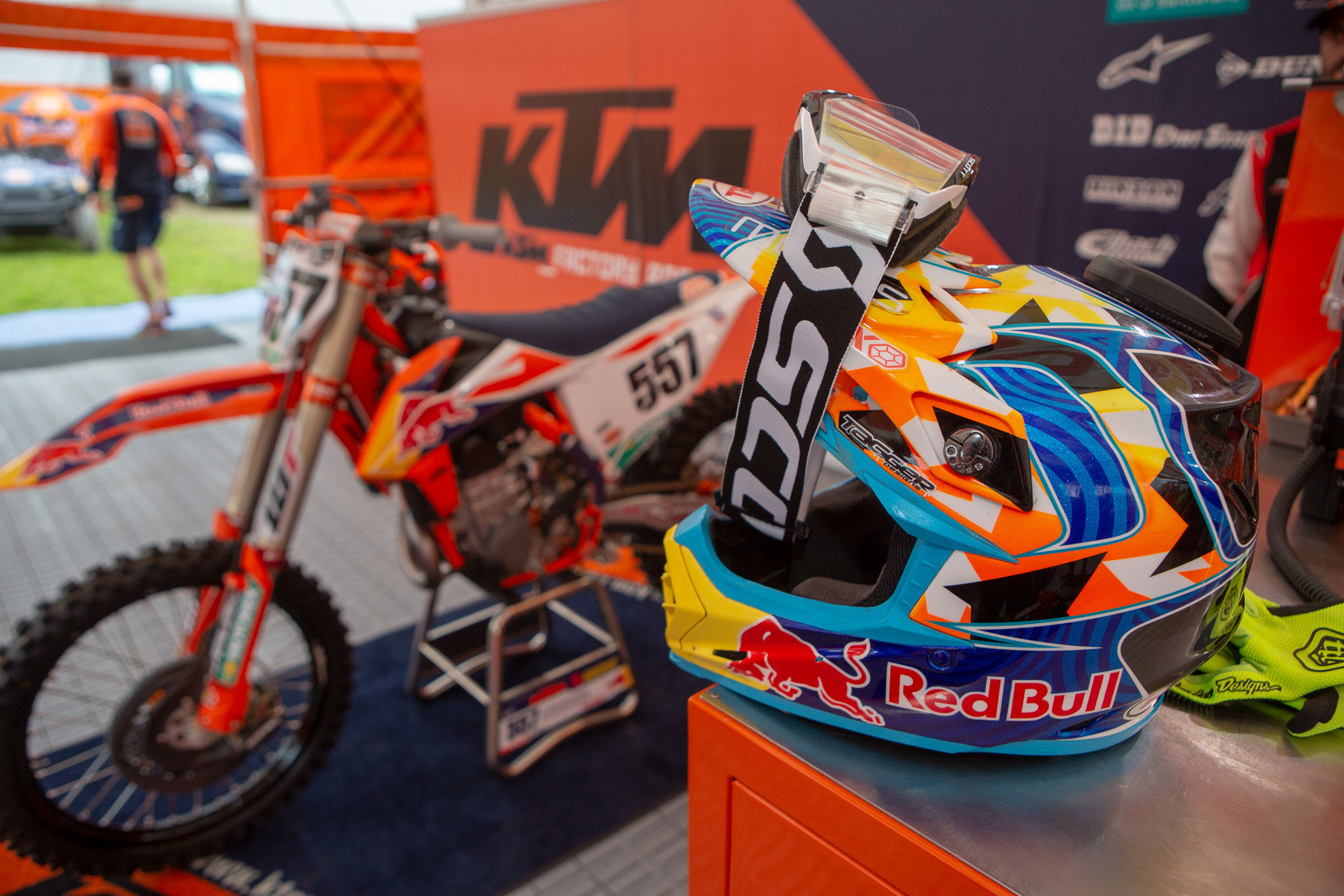 It was cool to see Kailub Russell be able to fulfill a lifelong dream and line up for a National.