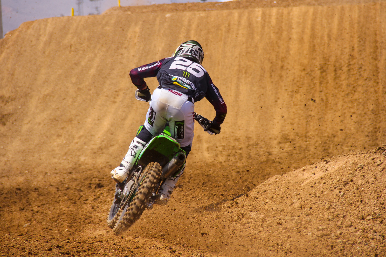 Another podium on lock, as Clemente Desalle heads towards a third overall on the season.