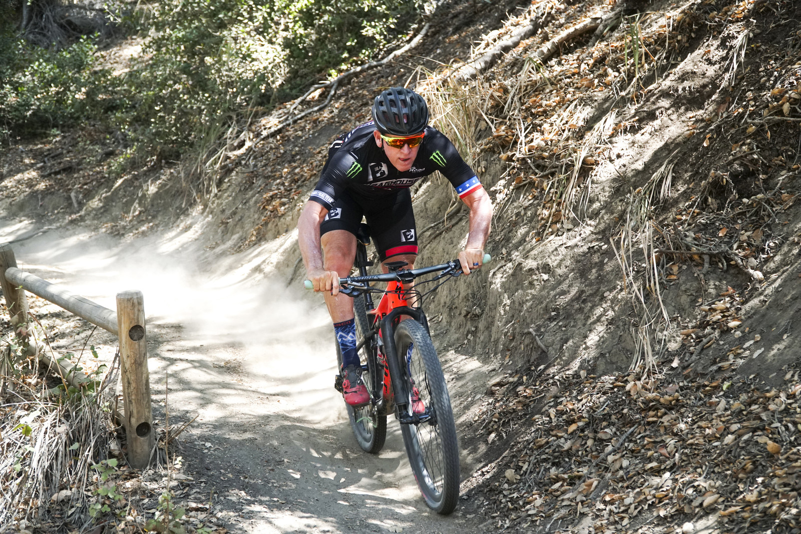 Not only is mountain biking great for your fitness, it helps on the track with line choice, opening up corners, keeping your momentum up, and missing the rough stuff.