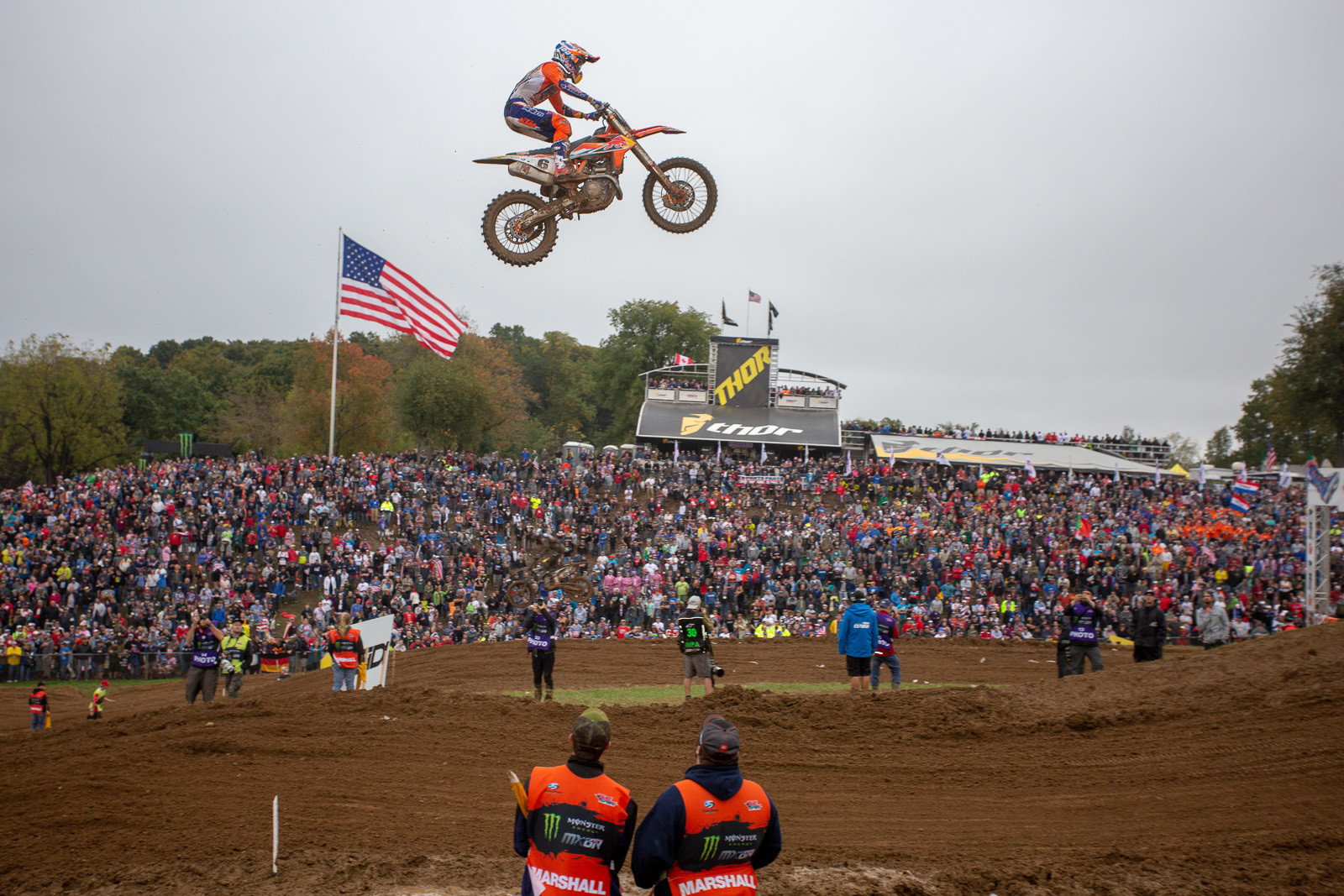 Glenn Coldenhoff was one of a small handful of riders (including Paulin, Tomac, and Cairoli) that cleared LaRocco's Leap.