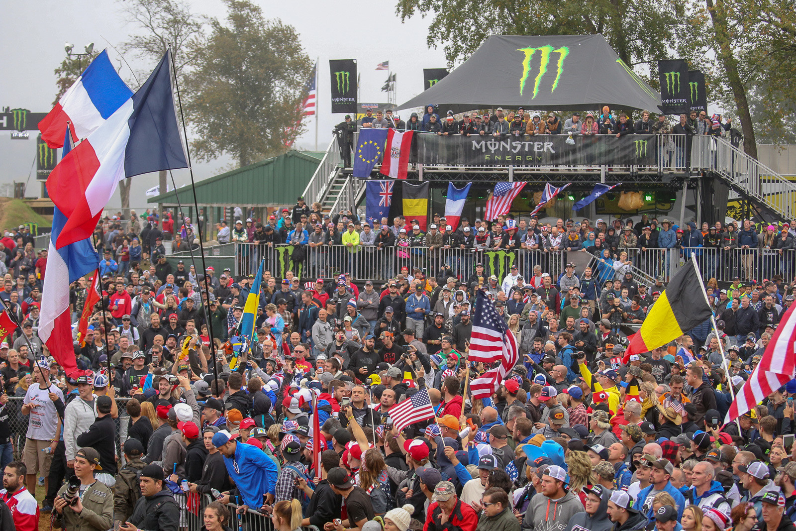 The scene at a MXoN is like nowhere else. This crowd? It was for the team introductions on Friday.