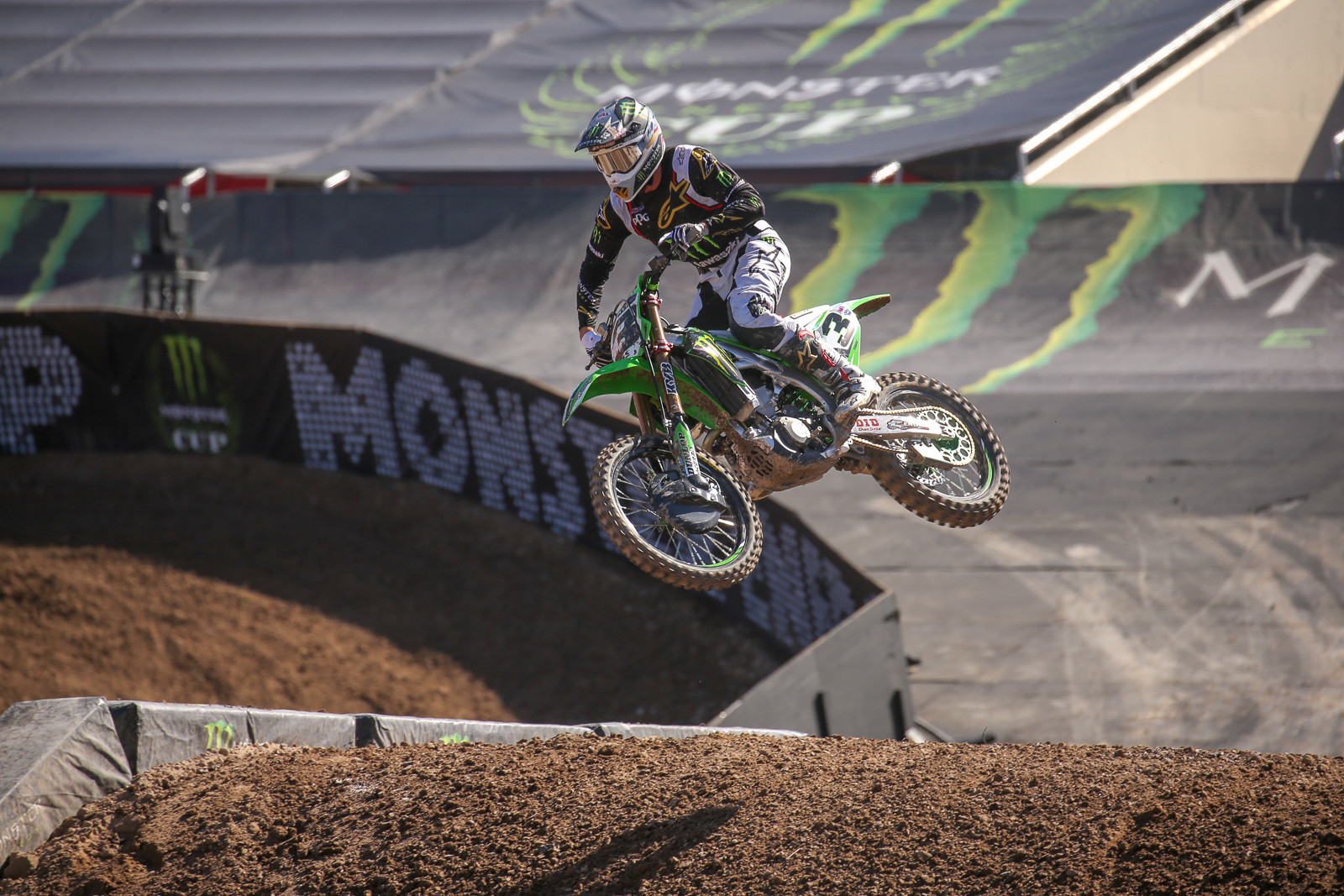 We dig the custom setups that brands bring to the Monster Energy Cup.