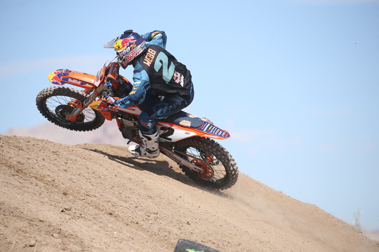 Cooper Webb is making his debut with Red Bull KTM this weekend.