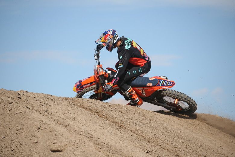 Marvin Musquin was the fastest qualifier in the Cup Class.