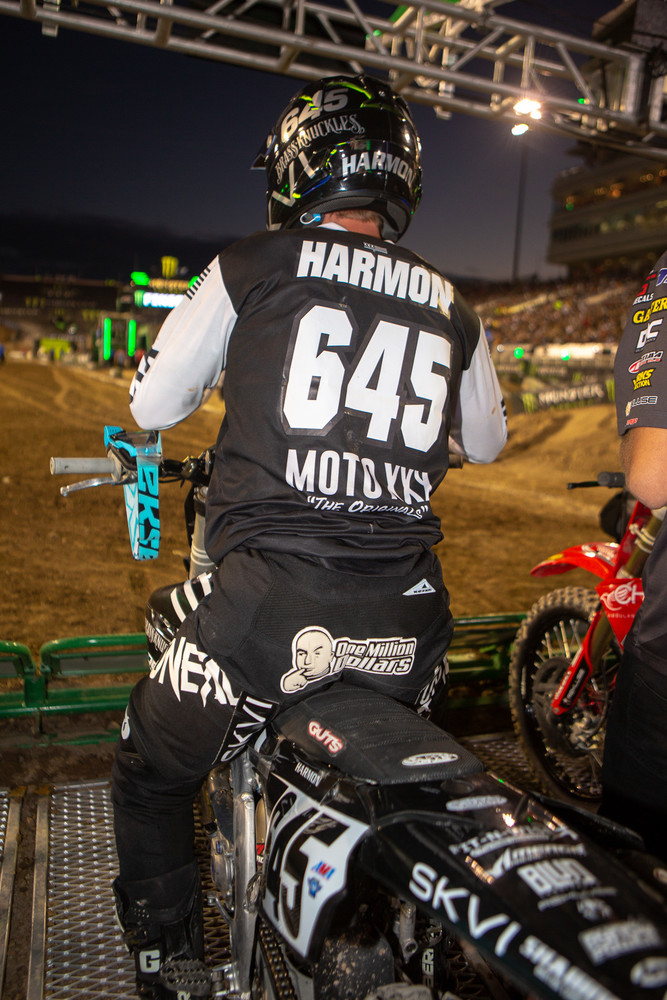 What are we racing for again? Oh yeah... (we liked Cheyenne Harmon's butt patch).