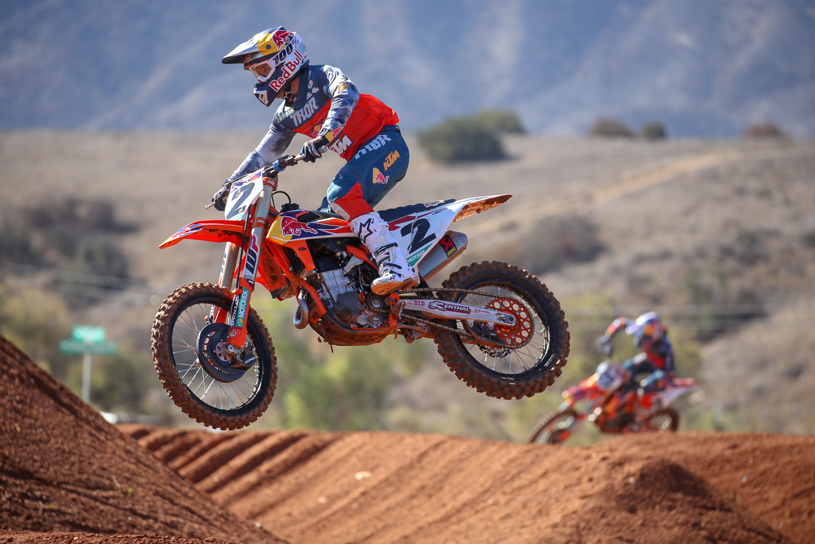 Cooper Webb and Marvin Musquin have had their share of battles before they were teammates, but everyone involved with the team seems confident that they'll have a good working and training relationship at Baker's Factory.