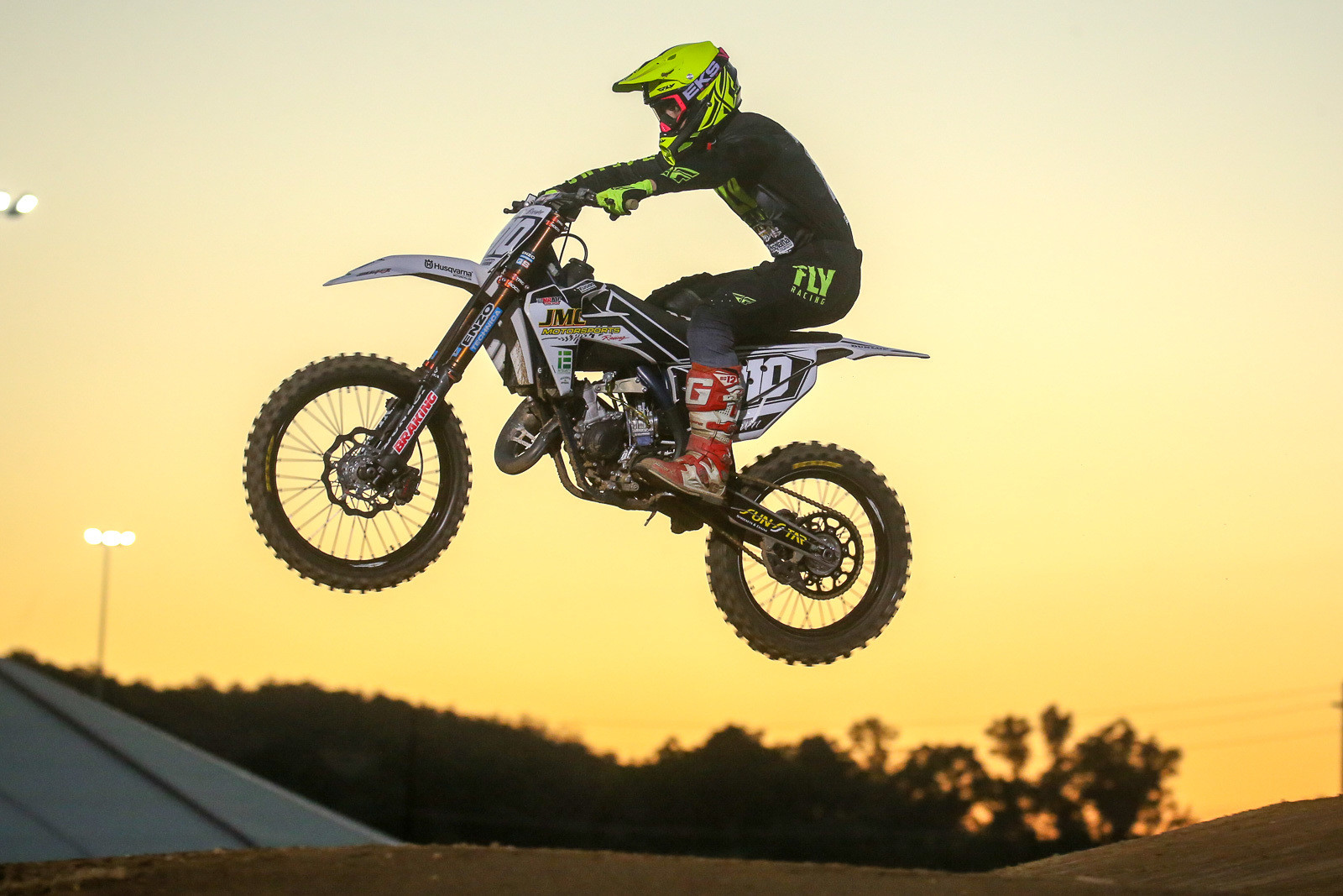 There was both 125 and 250 class action on tap, and Carson Brown nabbed the win in the 125 class.