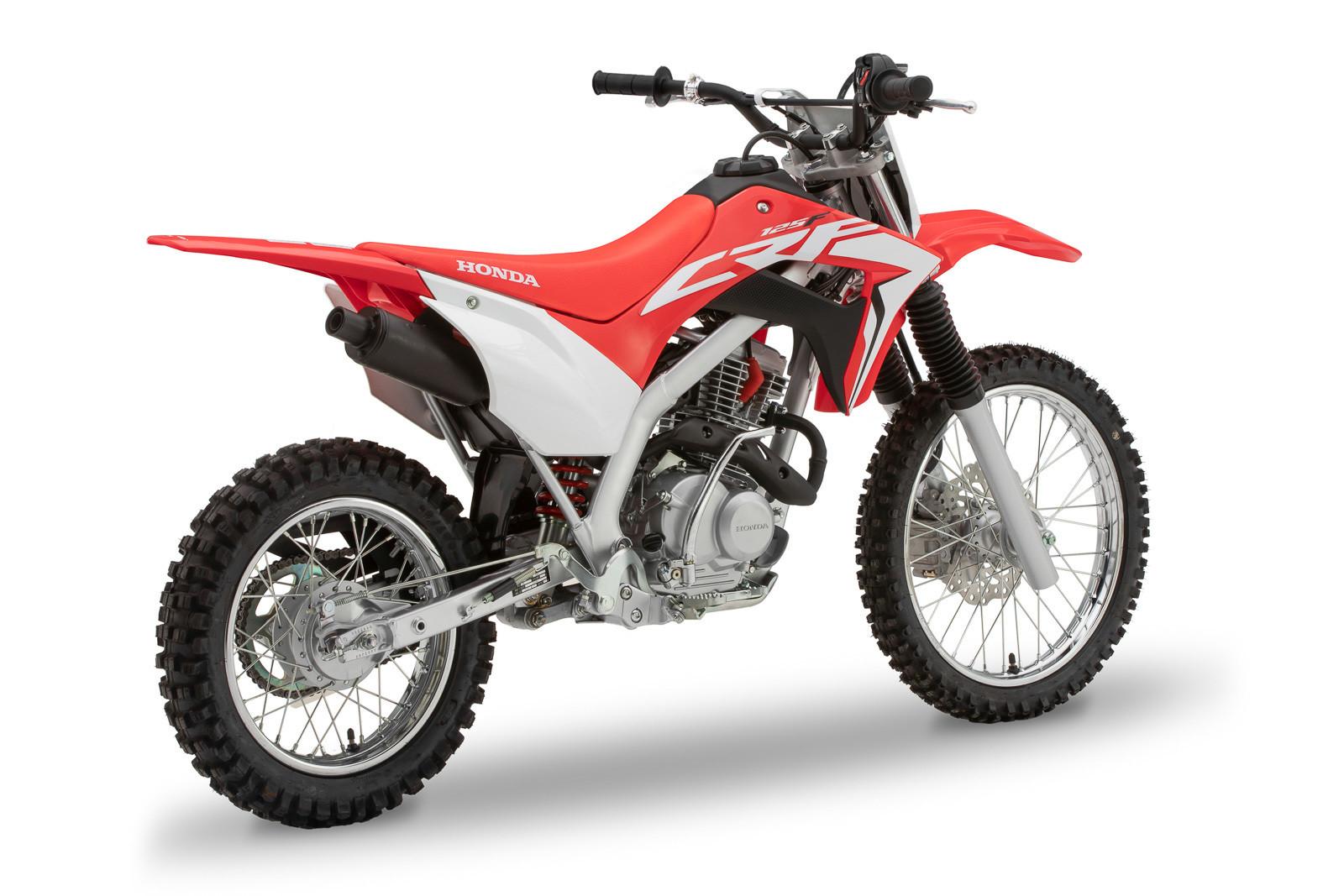 2019 Honda CRF125F.