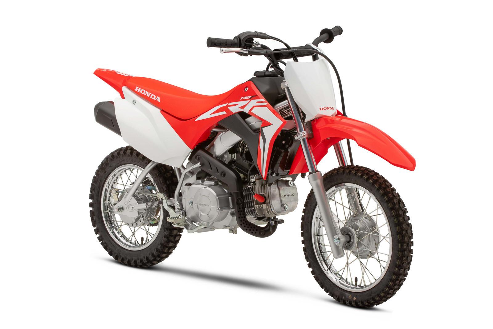 2019 Honda CRF110F.