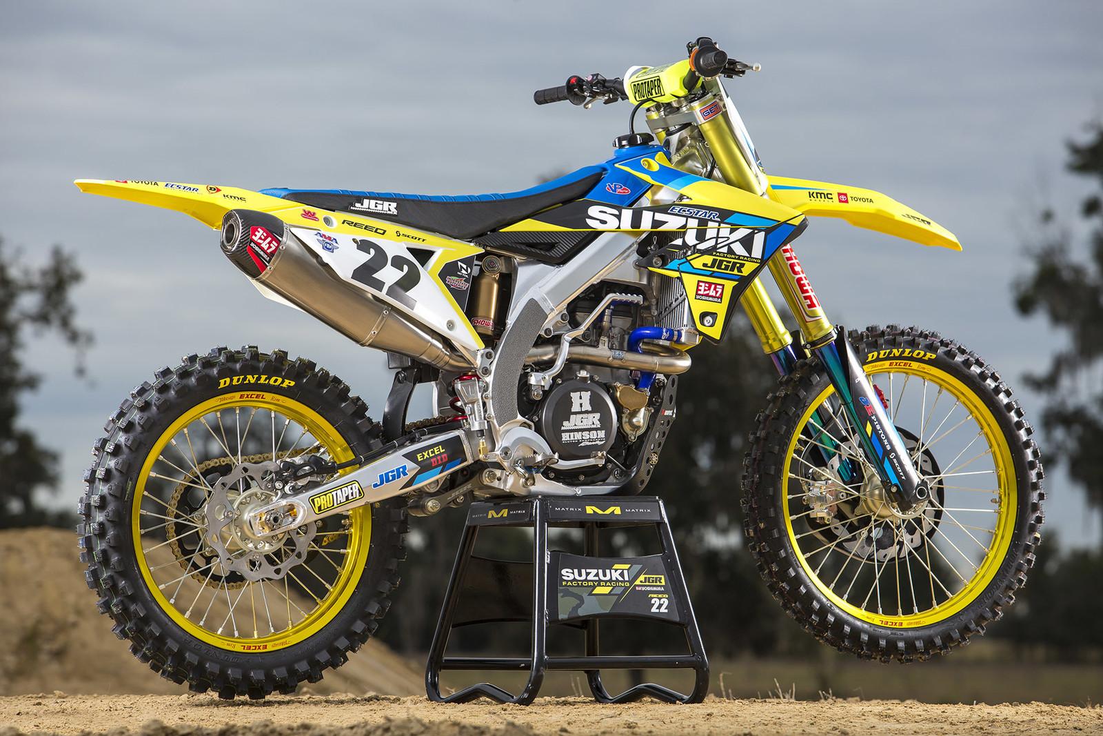 Chad Reed's Suzuki RM-Z450.