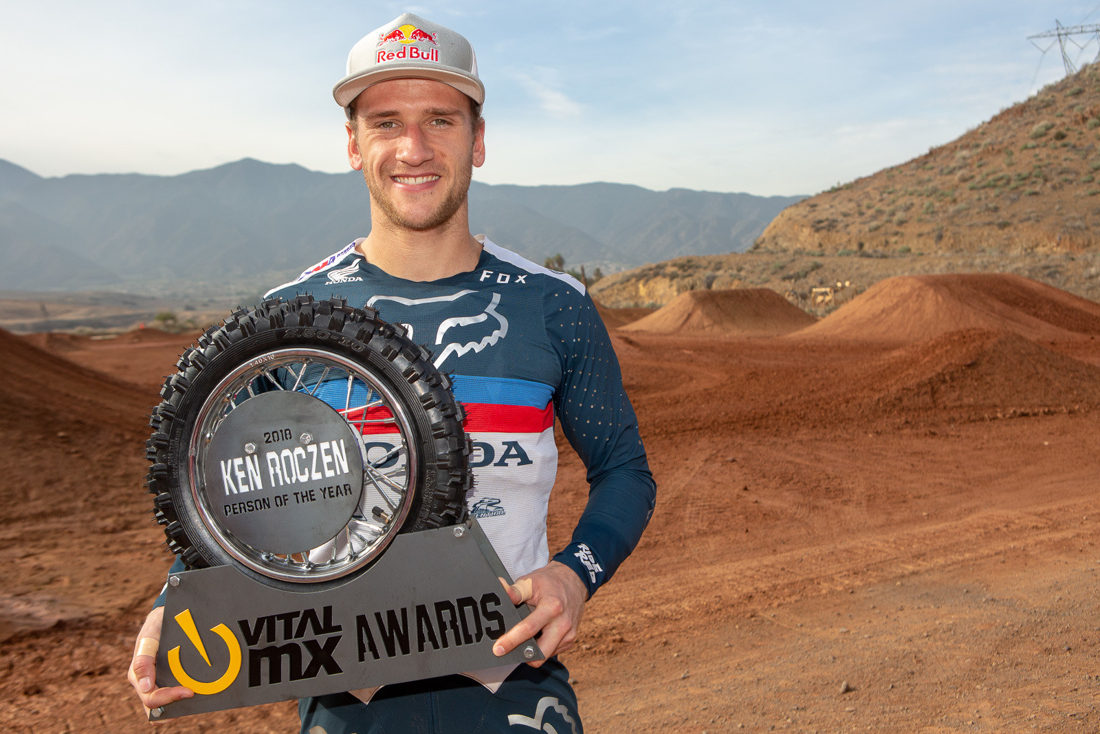 Ken Roczen, Vital MX's Person of the Year.