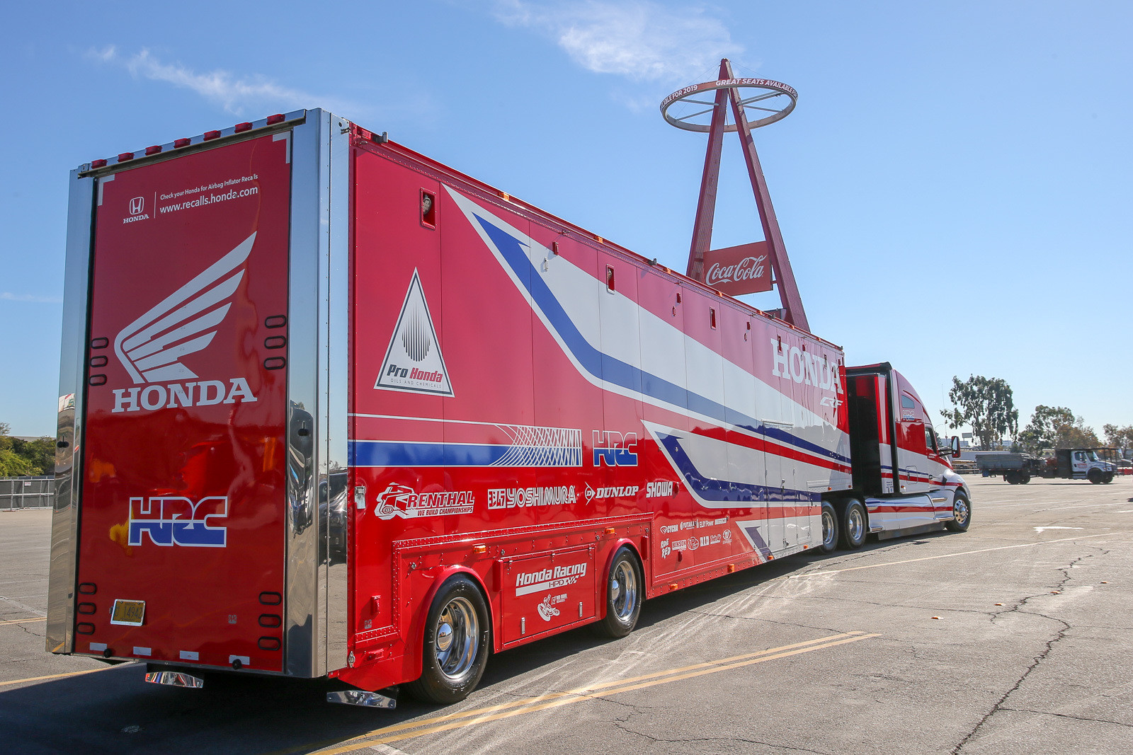 It's always our favorite time of year when the rigs start rolling into the pits at Angel Stadium. Let's see what else was going on early in the weekend at the Big A.