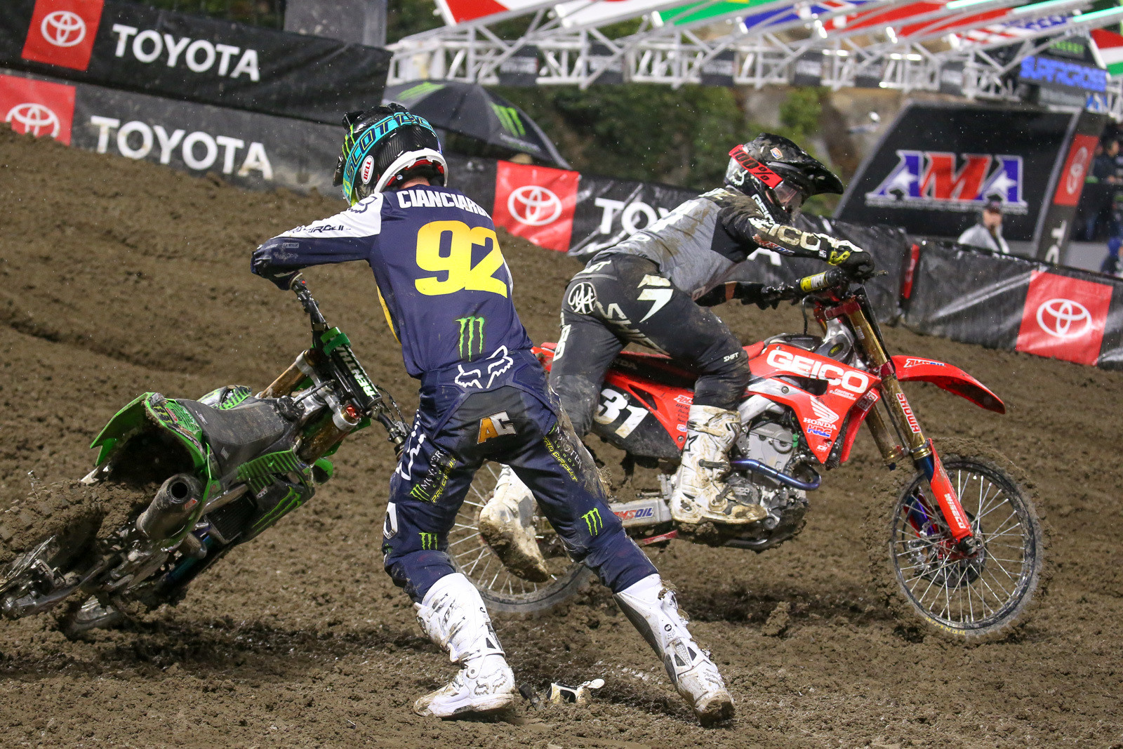 Adam Cianciarulo and RJ Hampshire.