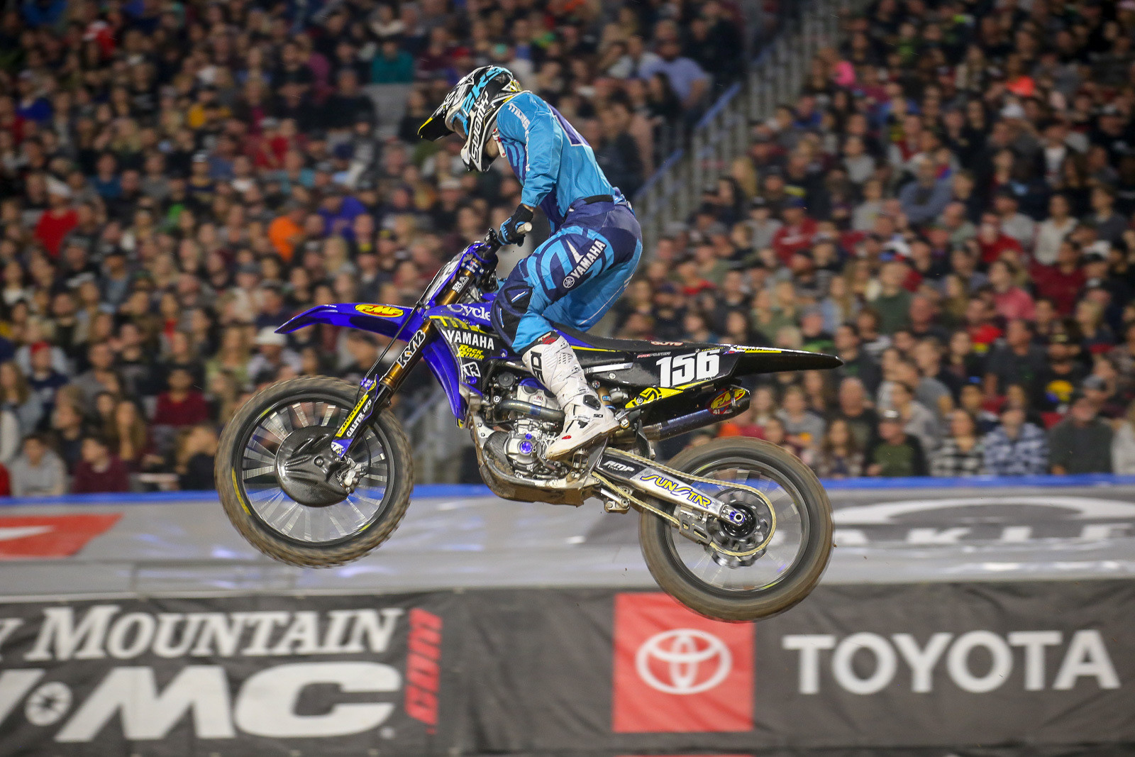 With the old Arenacross series being shuttered after the end of the '18 season, it's been interesting to see a couple of the AX refugees in action on the SX side. The final champ, Jacob Hayes, has shown good speed at the first couple of rounds. Check out the audio clip below to hear his thoughts on the season so far.