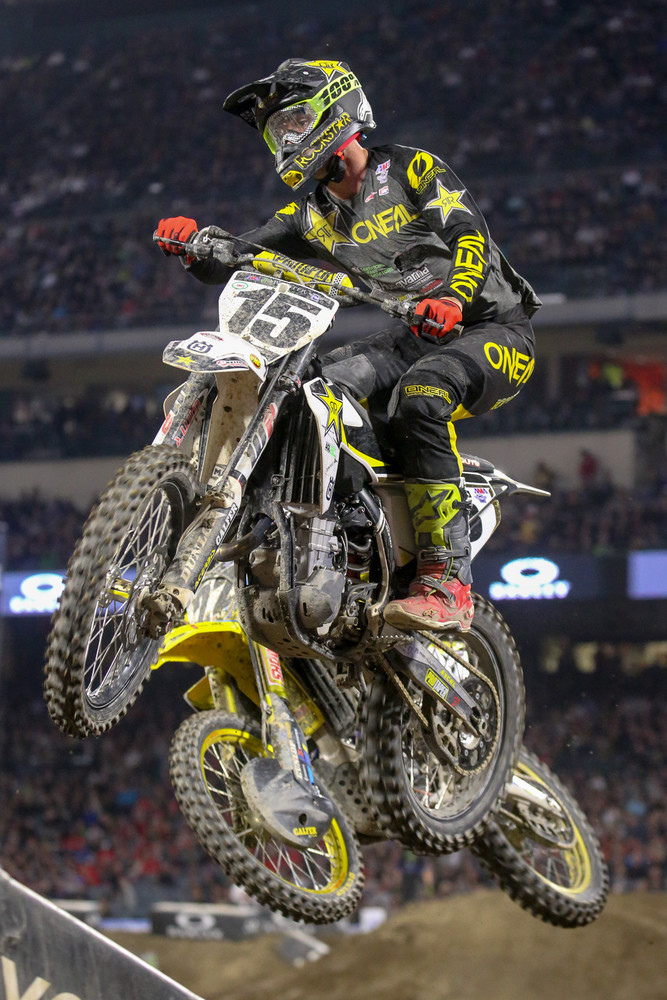 Dean Wilson went 9-8-7 for fifth overall on the night.