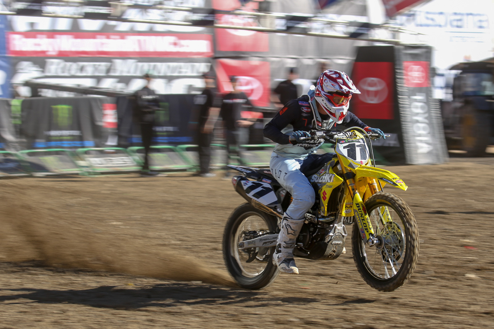 Man, were we happy to see Kyle Chisholm back this week after a really hard crash at the start of last week's 450 LCQ.