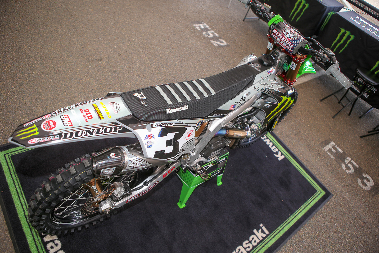 Here's a different view of ET's bike.