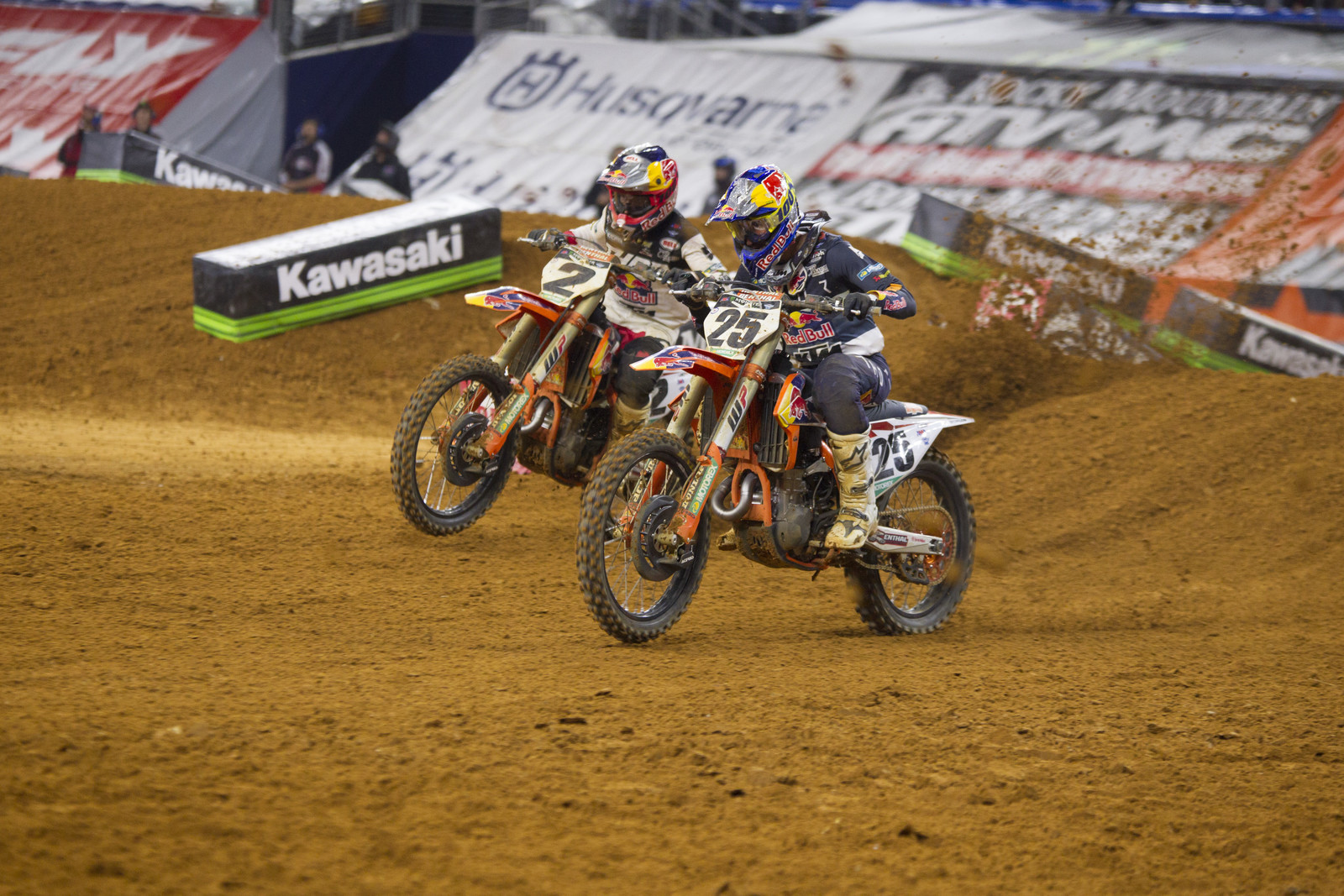 Cooper Webb and Marvin Musquin.