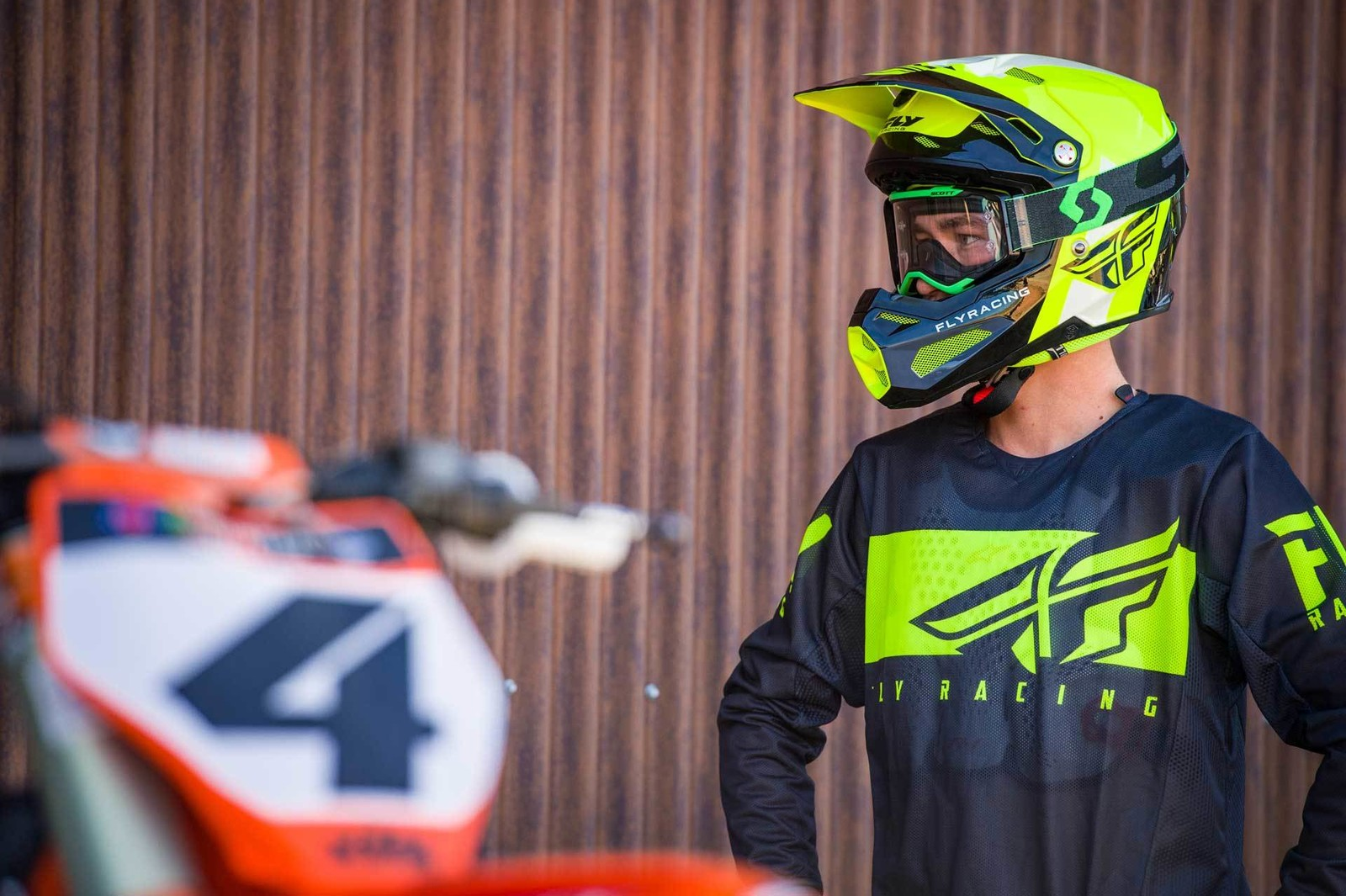 Blake Baggett, 2019.5 Kinetic Mesh Shield Racewear