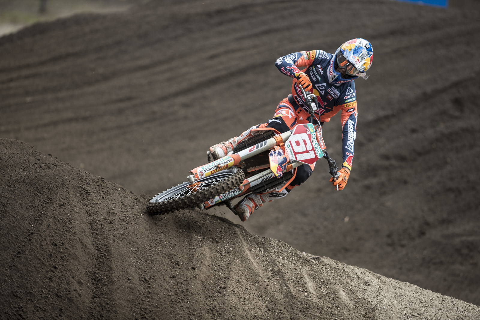 Red Bull KTM MX2 rider Jorge Prado put together two great rides to come away 1-1 in Argentina. His ride at MXoN was no fluke. Photo by Juan Pablo Acevedo