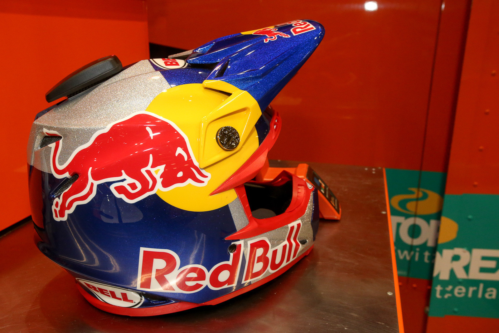 Cooper Webb has a sparkly new lid.