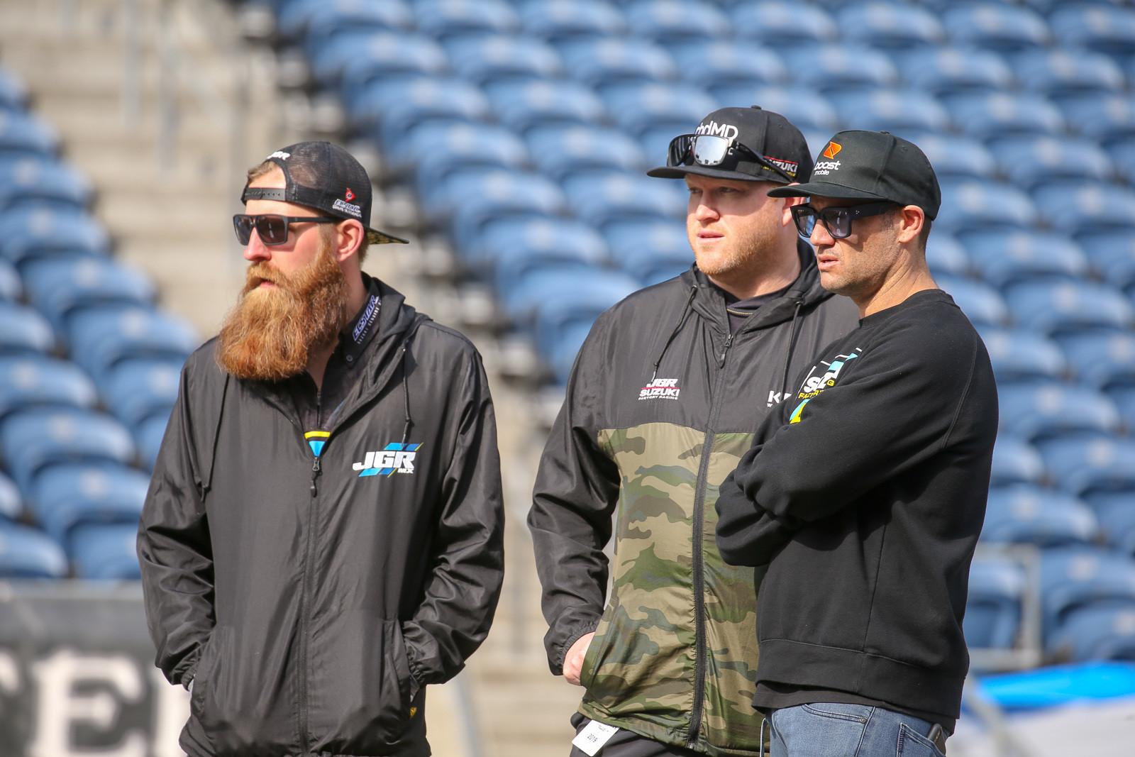 Ben Schiermeyer, Dan Truman, and Chad Reed.
