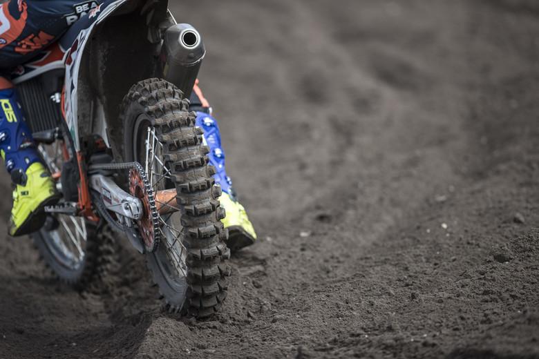 Pirelli sand tire.