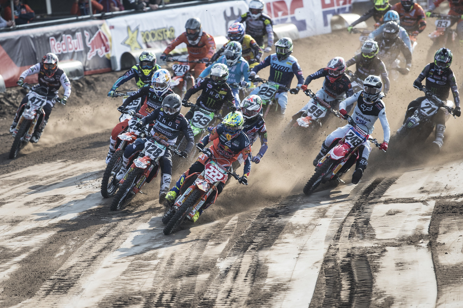 The Netherlands is known for its sand. The dark loamy sand of Valkenswaard took down a fair share of riders throughout the weekend.