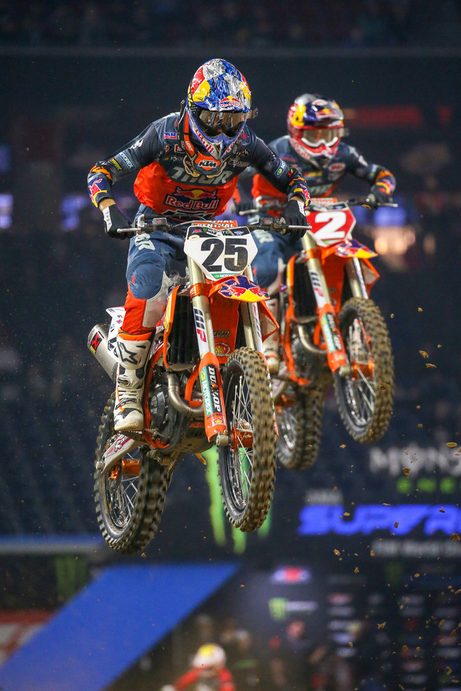 Marvin Musquin and Cooper Webb.