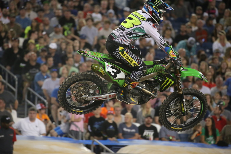 Eli Tomac took the victory.