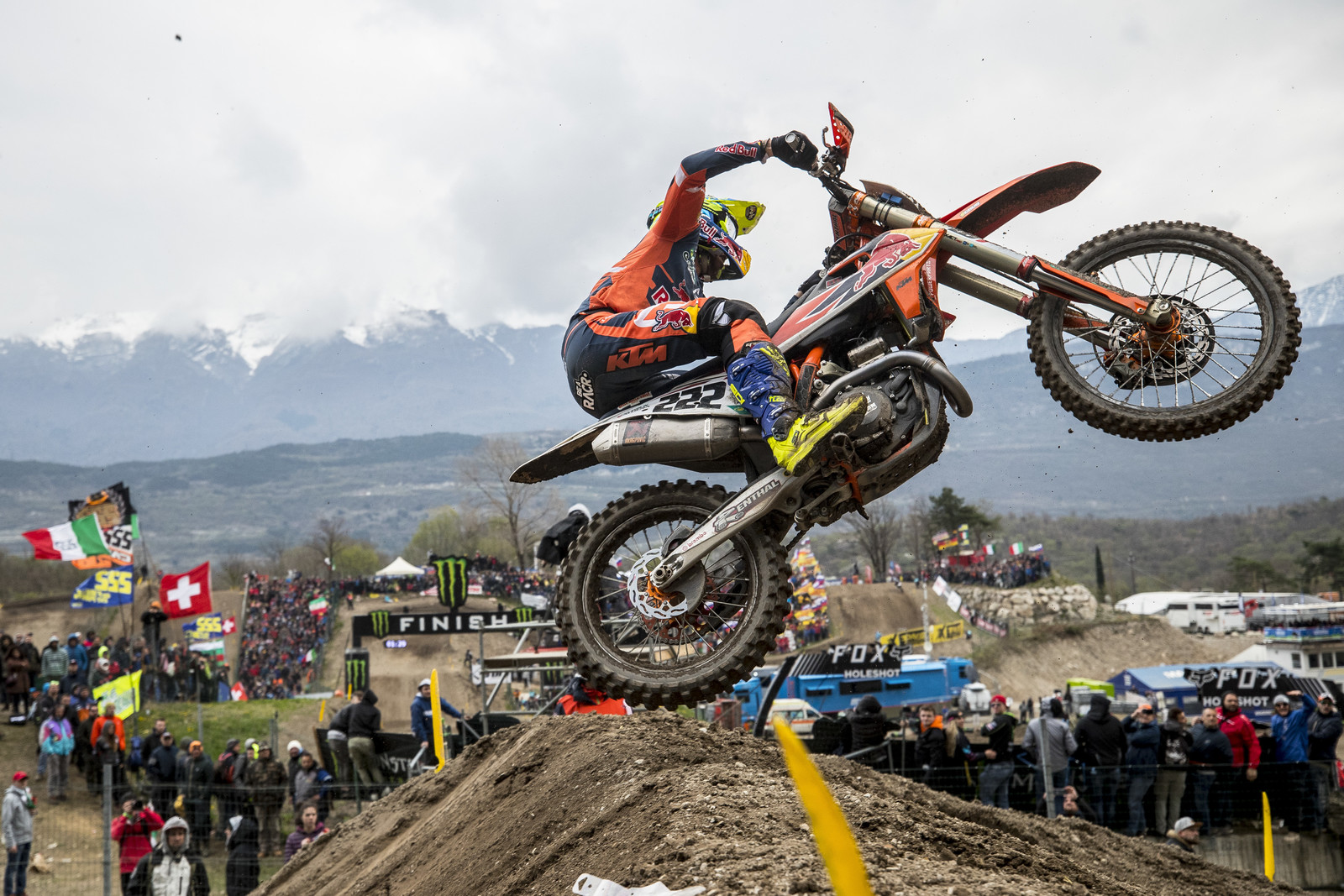 Red Bull KTM's Tony Cairoli had to settle for second overall in his home country with 2 - 2 moto scores. But those numbers alone don't tell the story. Tony and Tim Gajser were on a whole other level trading the lead in each moto.