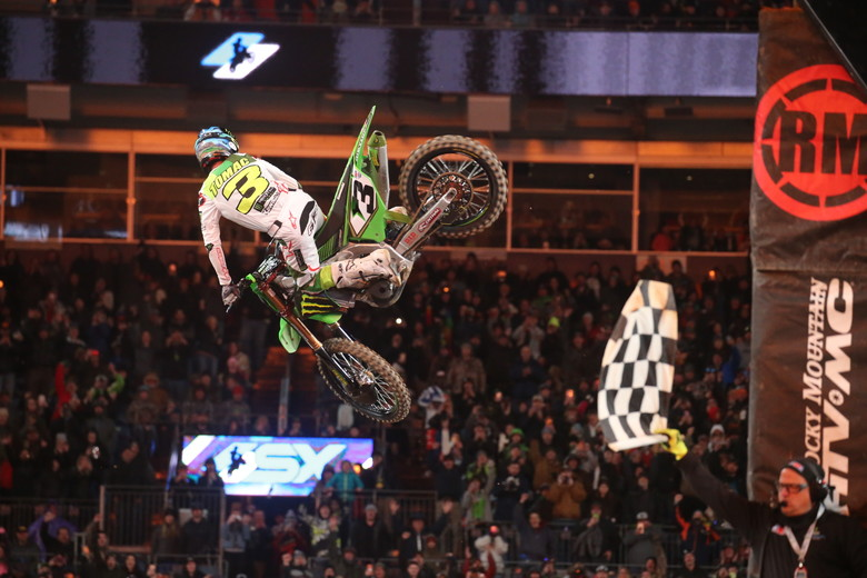 It was a big win for Eli Tomac.