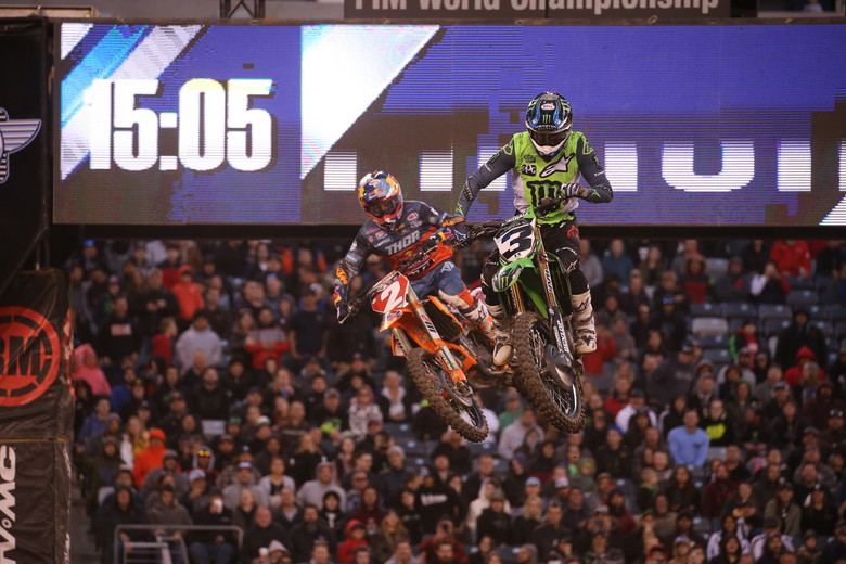 Eli Tomac had the speed to win, but two crashes hurt him tremendously. Cooper Webb went on to win the race.