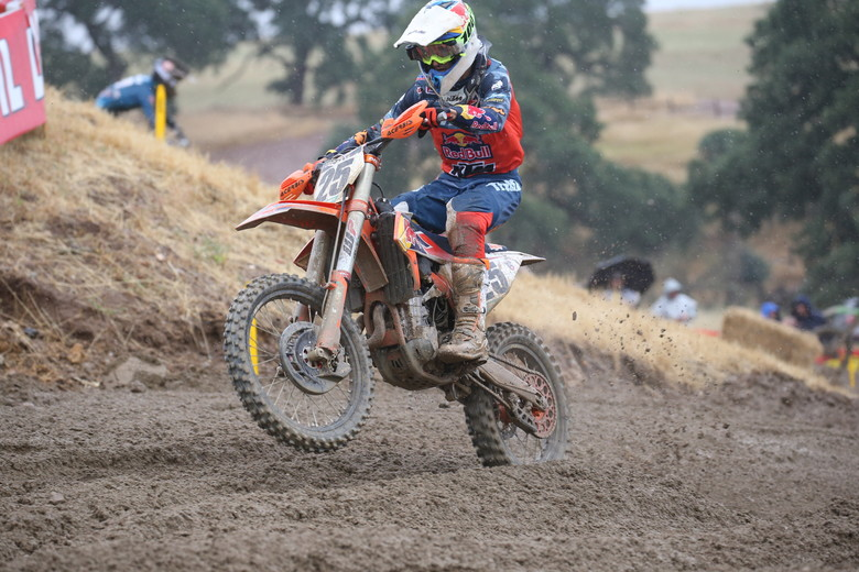 Hangtown didn't quite go Marvin Musquin's way, with him finishing off of the podium in both motos.