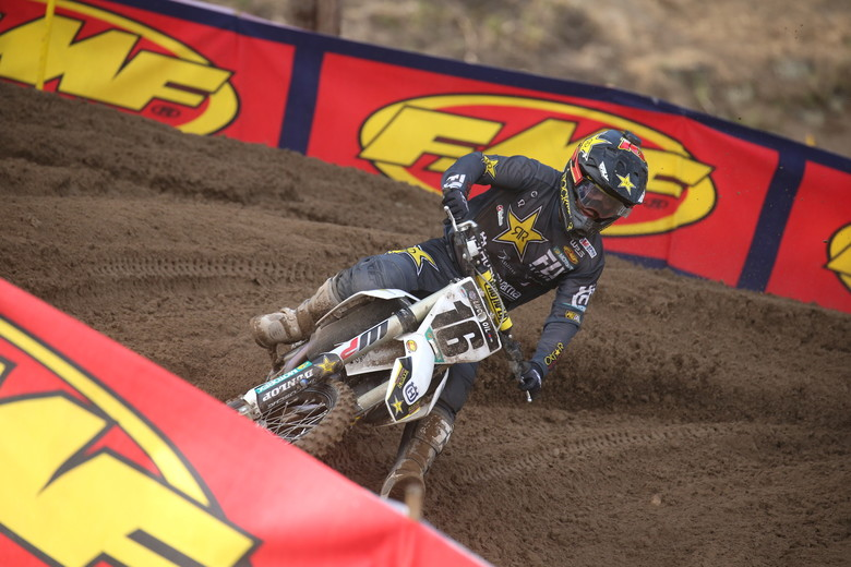 Zach Osborne broke through for the first 450 moto win of his career.