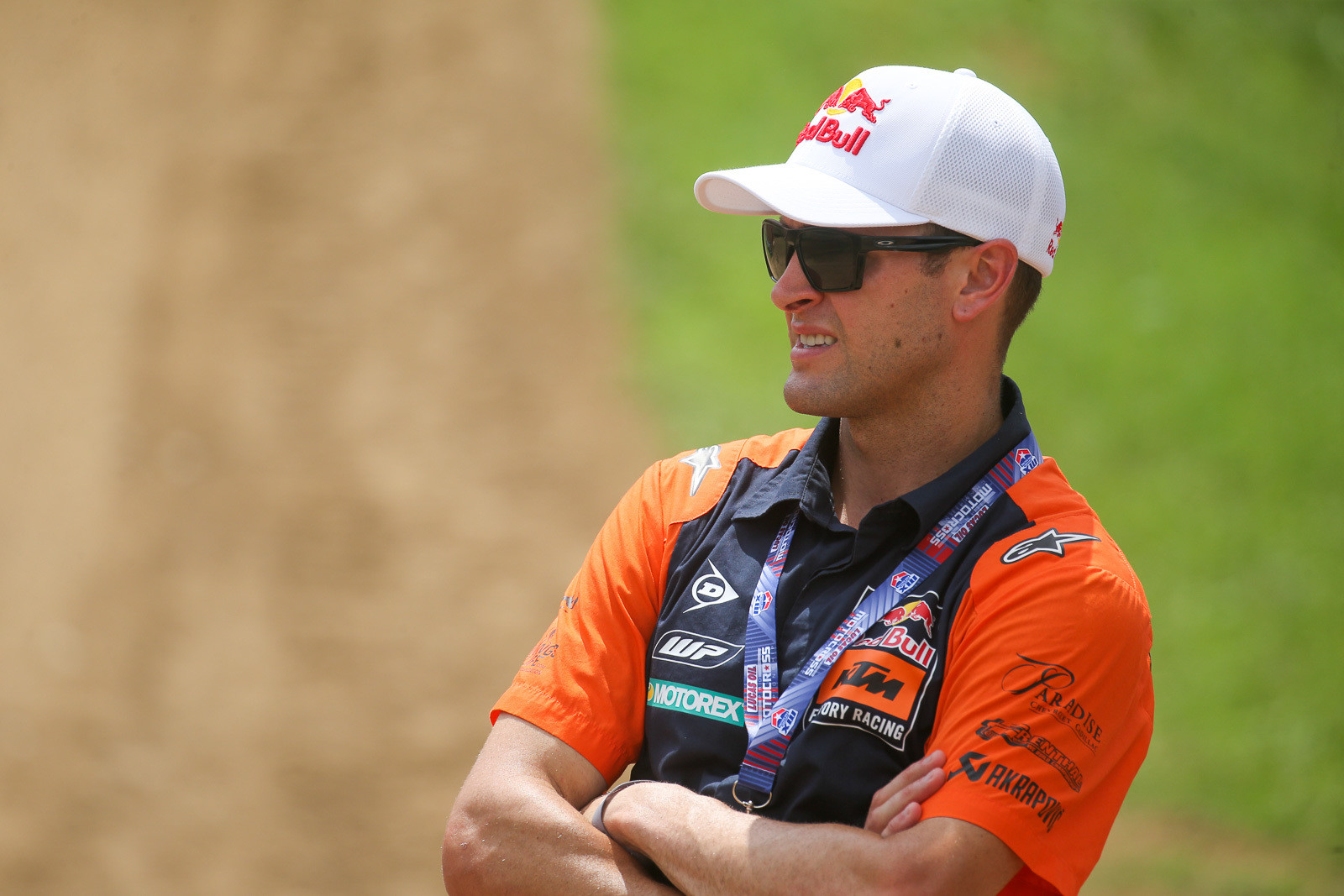 It was good to see Ryan Dungey spectating from the infield this weekend. We joked with the new father about whether he had to come to the races to get some peace and quiet, but he said his new daughter has actually been sleeping quite a bit.