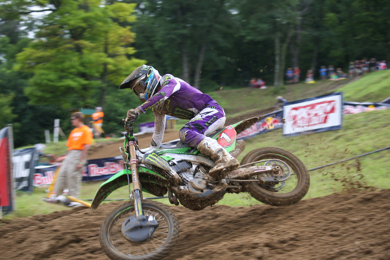 It wasn't a great day for Eli Tomac, but he did extend his lead in the championship.