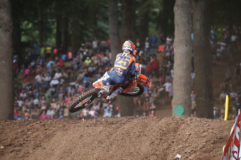 Marvin Musquin was much better in Moto 2...