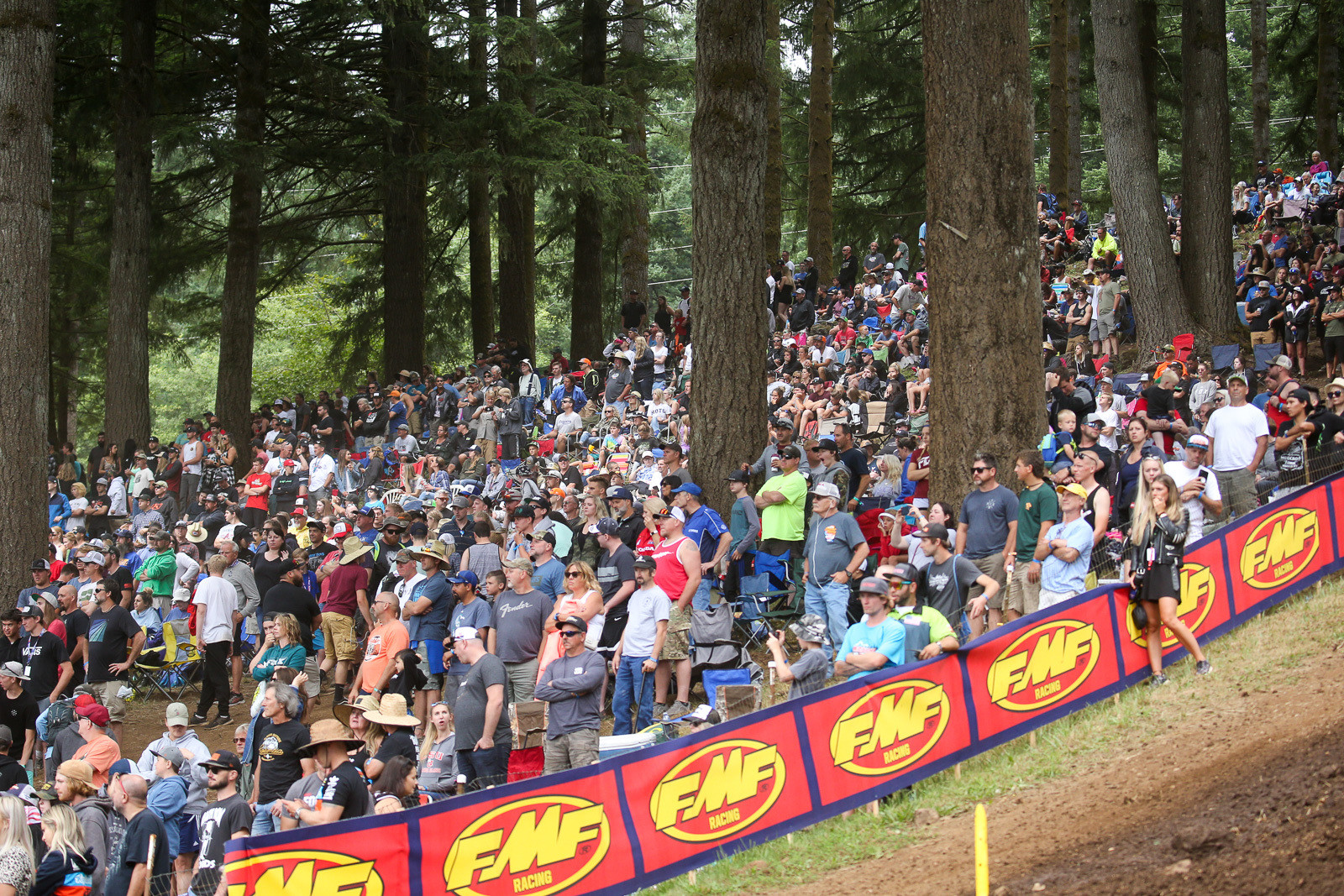 If there was a Bigfoot to be found at Washougal this year it was the crowd, which looked like one of the biggest that we've seen there.
