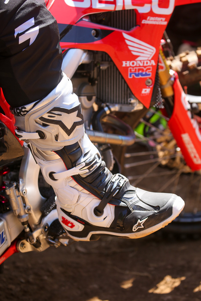 There was a whole bunch of things on the fashion front. We dug the Washougal Alpinestars LE boot.