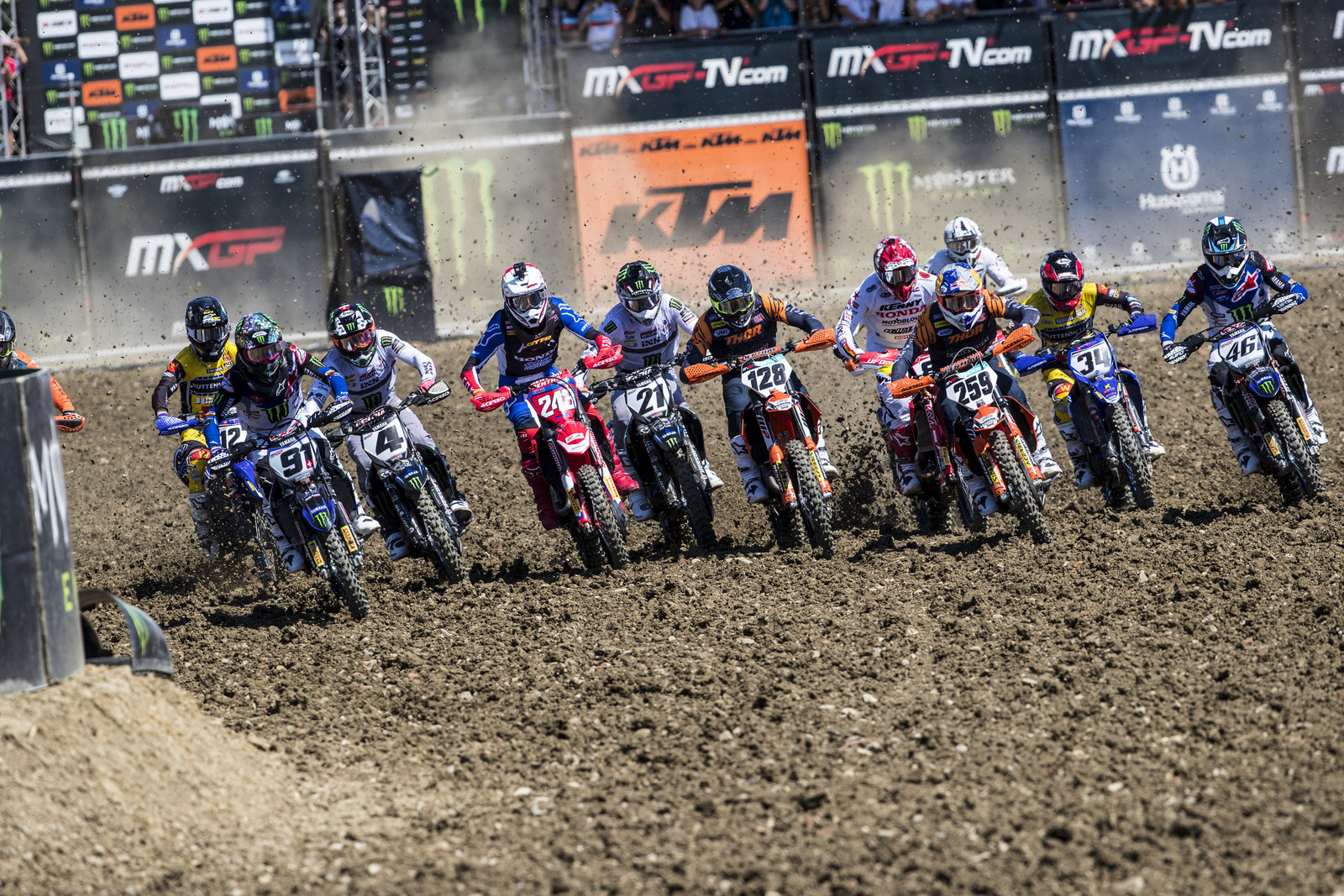 Imola Italy saw the 15th round of the MXGP series. Calling this track hardpack would be a gross understatement.