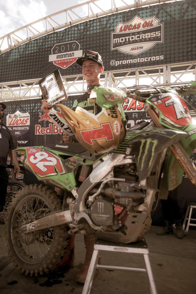 Adam Cianciarulo's first championship.