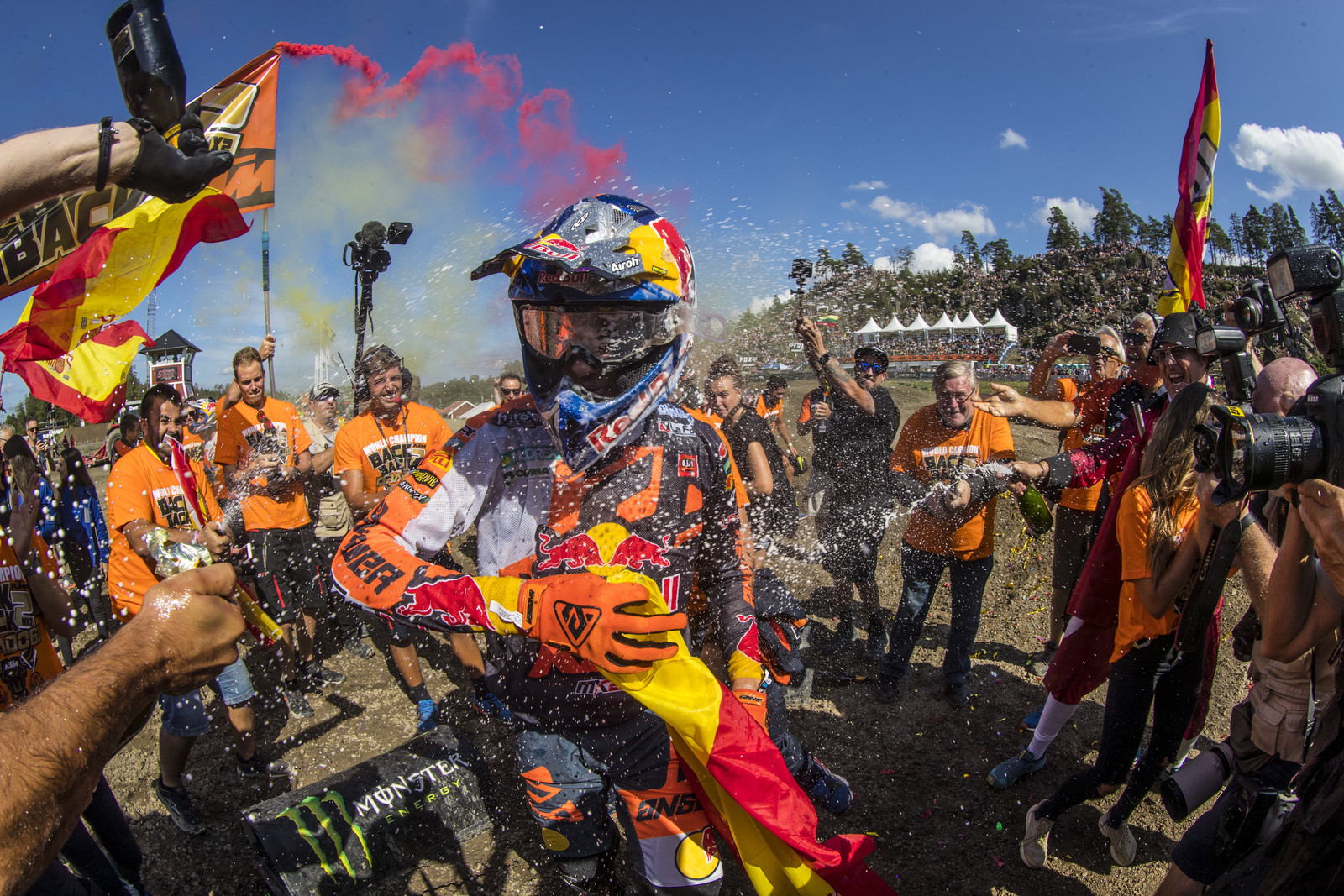 The big news of the weekend was Jorge Prado taking the MX2 Championship for the second year in a row.
