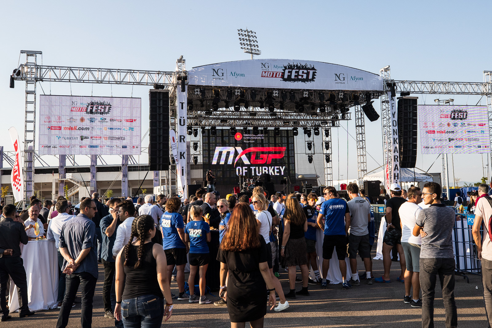 The Afyonkarahisar Motorsports Center looks like quite the facility, and the opening ceremonies were held on Friday before the start of the weekend's action.