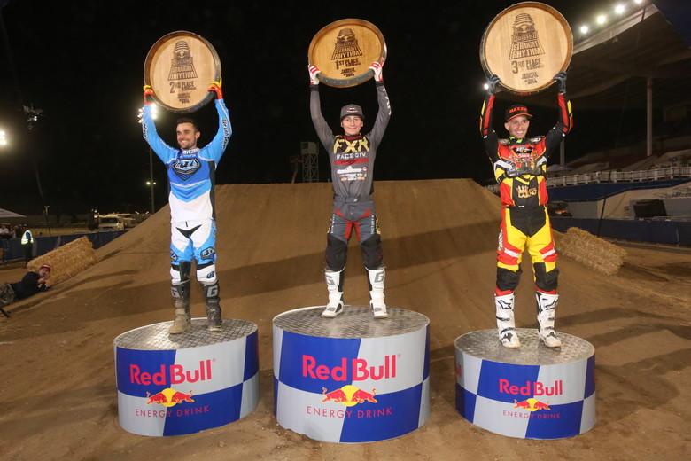 250 Class podium.