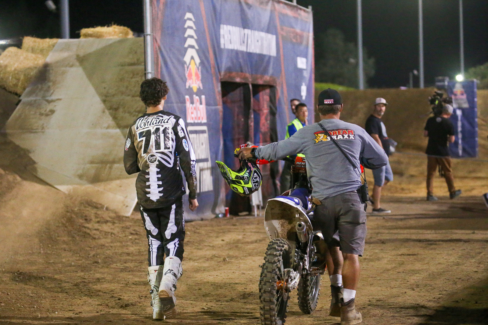 We were stoked to see Max Vohland walk away from his crash in the whoops.